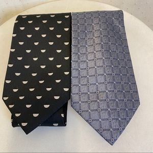 Belisi silk ties set of 2